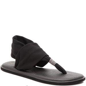 Black Sanuk Sandal!